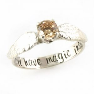 anillos de matrimonio Harry Potter.